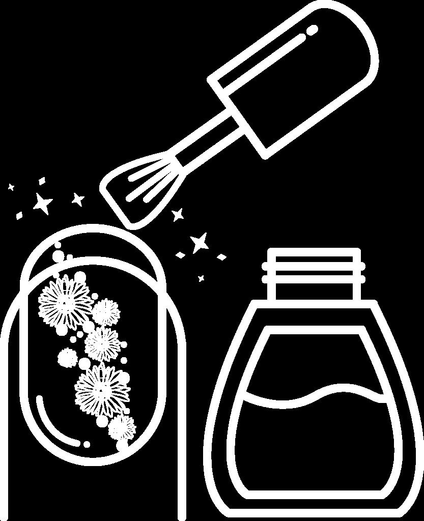 manucure gel et semi permanent à domicile - prestations et tarifs