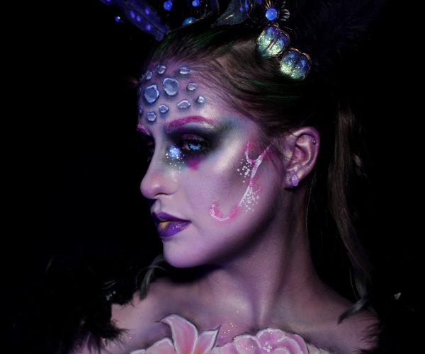Concours maquillage Nyx Professional makeup - face awards 2019 - wonderland after dark profil