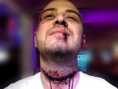 maquillage professionnel à domicile effets spéciaux halloween