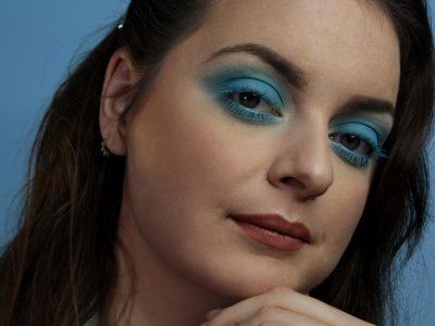 Shooting maquillage professionnel beauté fashion - let me blue6 - à domicile