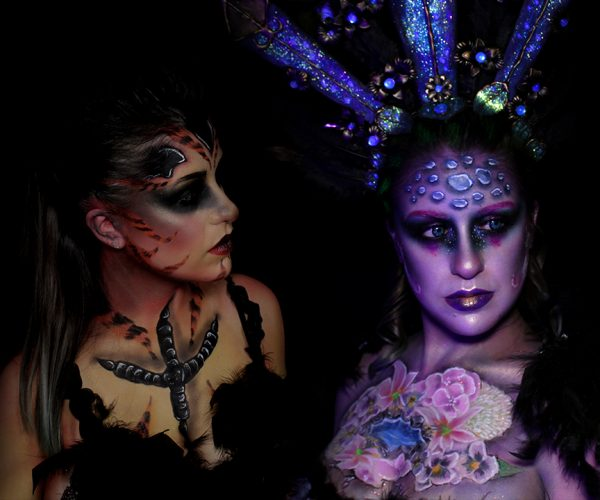 Concours maquillage Nyx Professional makeup - face awards 2019 - wonderland after dark 2 looks