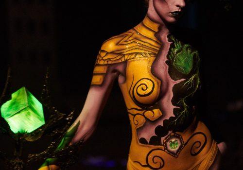 maquillage professionnel à domicile bodypainting artistique